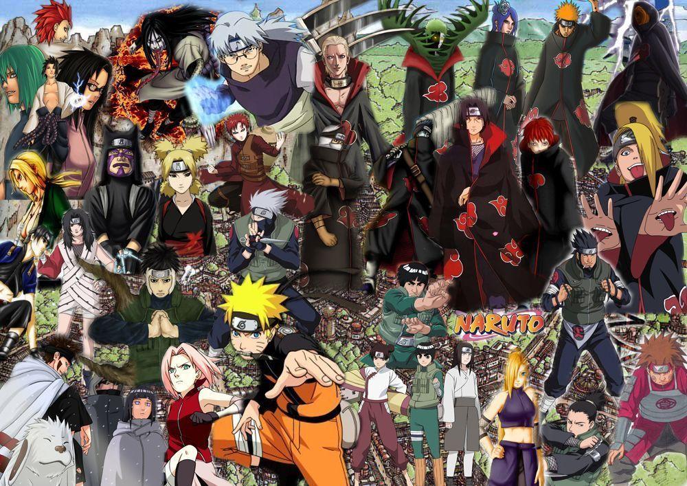 Photo De Tout Les Personnage De Naruto